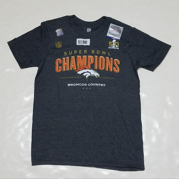 219aca0b6 Denver Broncos Boys Super Bowl 50 Champions Tee